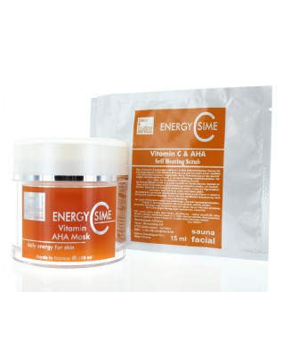 EnergyCsime Maske + Self Heating Scrub (200+5x15ml)