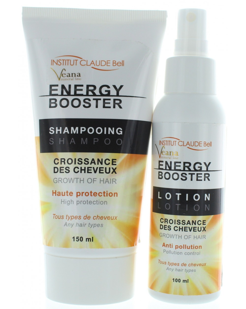Energy Booster Haarwachstum Shampoo + Lotion Set (150ml+100ml)