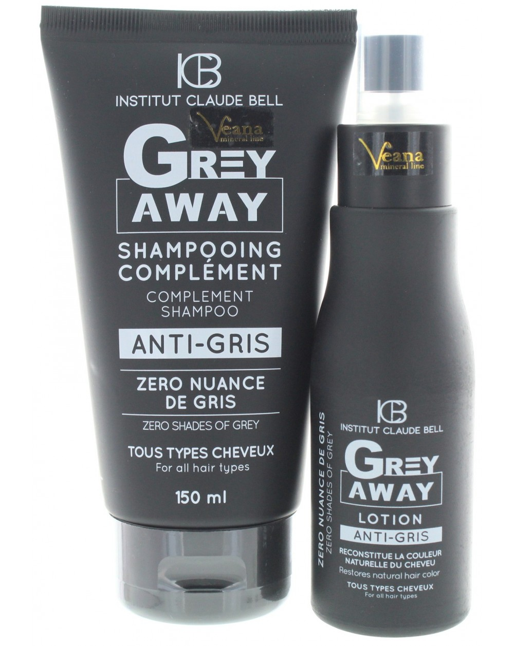 Grey Away Anti grau Shampoo + Lotion (150+100ml)