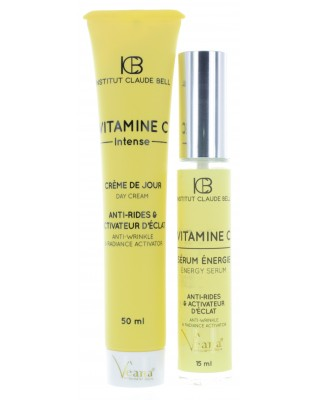 Vitamin C Intensive Tagescreme und Vitamin C Energy Serum (50ml+15ml)