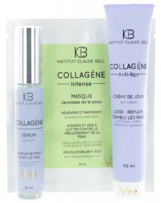 Collagen Intensiv Maske (25ml) + Collagen Creme (50ml) + Collagen Serum (15ml)